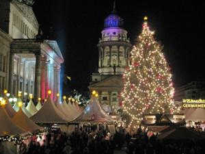 Gendarmenmarkt zu Weihnachten, Foto: Michael Pukrow/pixelio.de