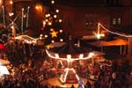 Weihnachtsmarkt in der Kulturbrauerei, Foto: Jochen Loch/lucia-weihnachtsmarkt.de