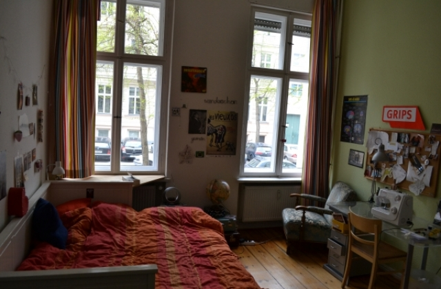 2089 -  erstes Schlafzimmer, Doppelbett / first sleeping room, double bed