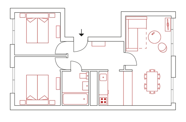 2469 -  Grundriss / ground plan