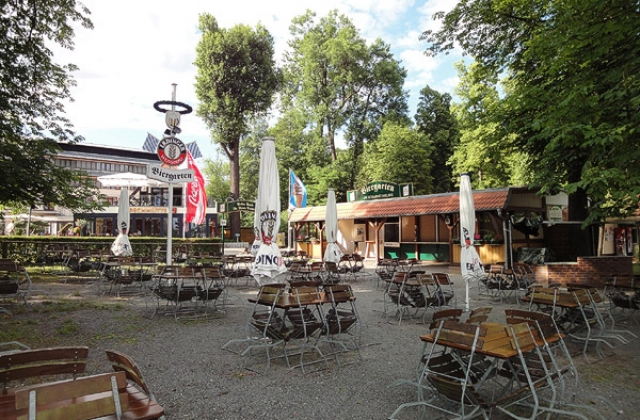 55 -  Bad Saarow Biergarten