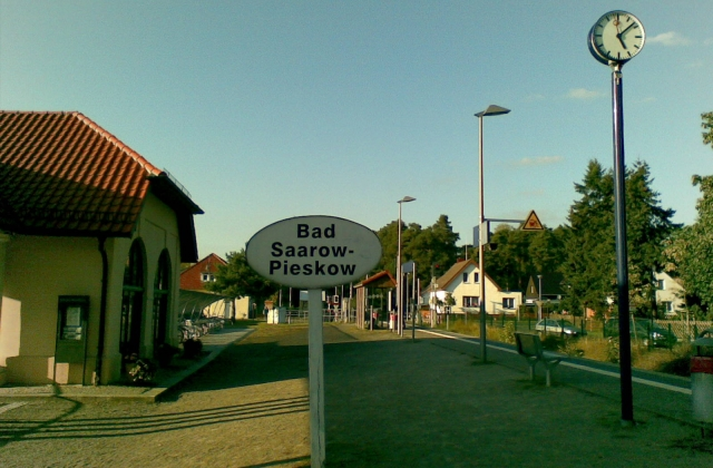 57 -  Der Bahnhoof in Bad Saarow